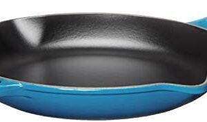 Le Creuset Enameled Cast Iron Signature Iron Handle Skillet, 11.75