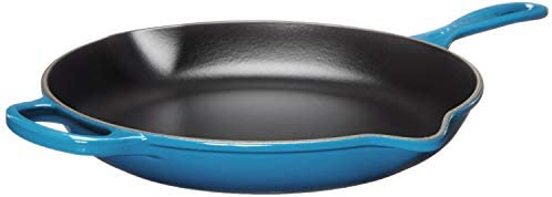 "Le Creuset Enameled Cast Iron Signature Iron Handle Skillet, 11.75"" (2-3/8 qt.), Marseille"