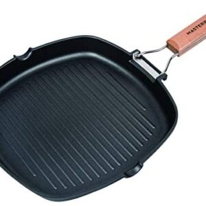 MasterPan Non-Stick Grill Pan Wooden, 11