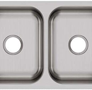 Elkay DXUH3118 Dayton Equal Double Bowl Undermount Stainless Steel Sink