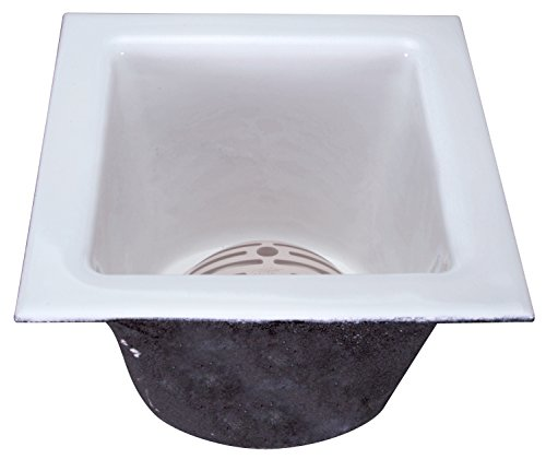 "Zurn FD2376-NH2 A.R.C. Floor Sink, 8"" Sump Depth, 2"" No-Hub Connection, 12"" x 12"""
