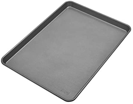 Chicago Metallic Commercial II Non-Stick Cooking/Baking Sheet, 17 by 12.25, Silver